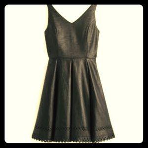 Collective Concepts Rowyn LazerCut Black Dress